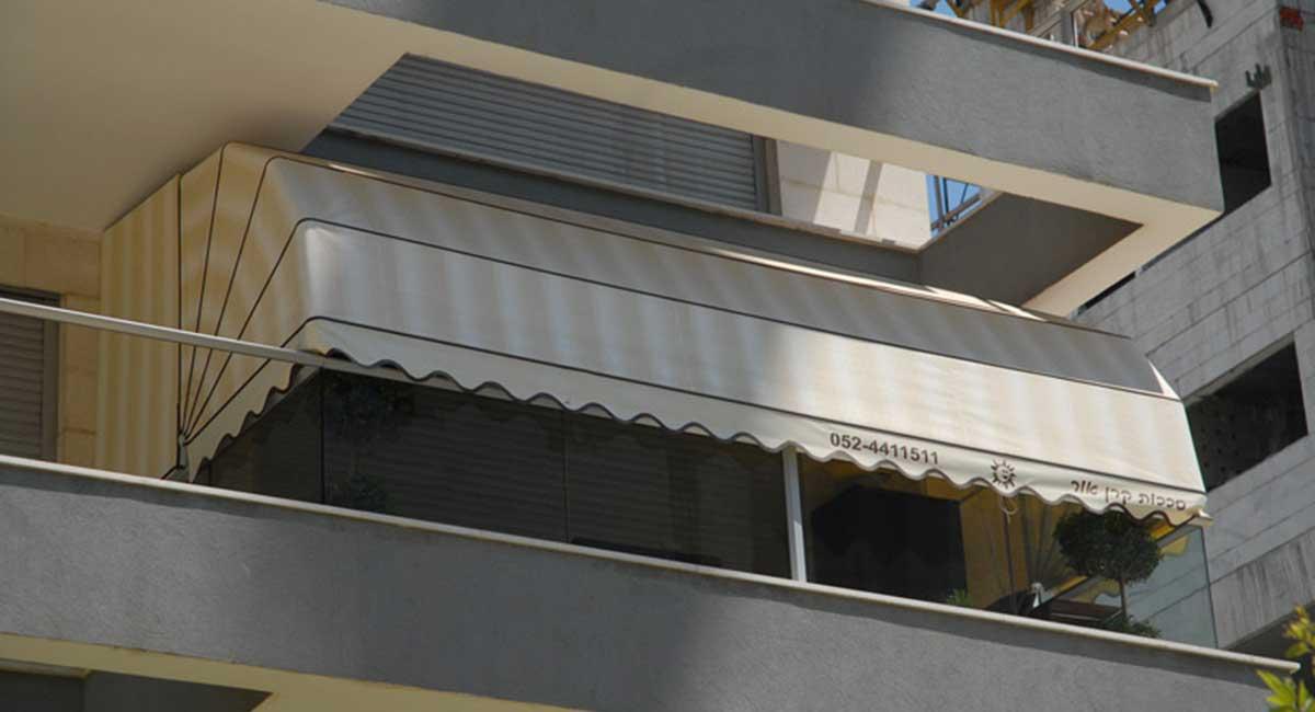 מרקיזה + חלק קבוע מרפסת מקורה חלקית