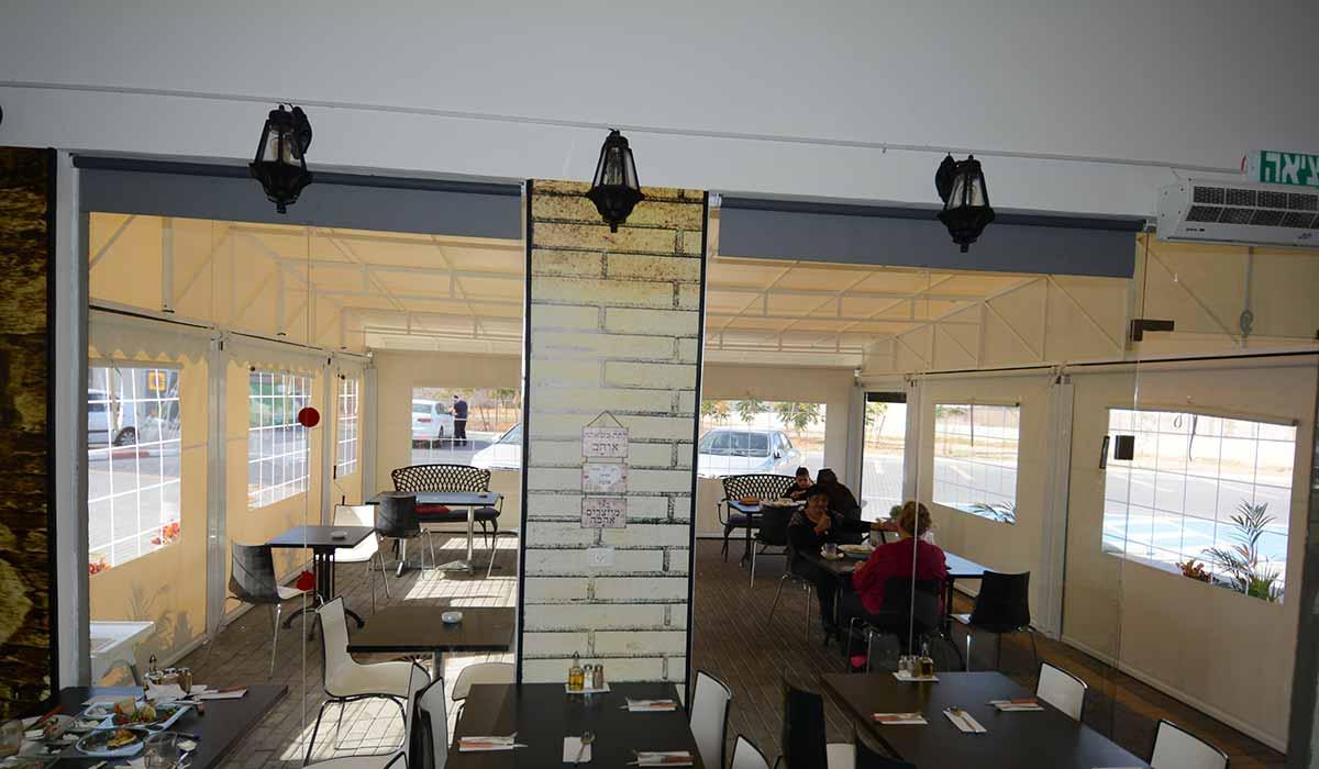 סגירת חורף בר קפה מבט מבפנים 7